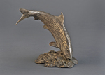 bonefish bronze sculpture bookend