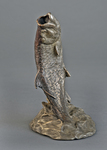 tarpon bronze fish bookend sculpture