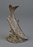 tarpon fish bronze bookend