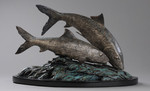 Bonefish bronze sculpture fish