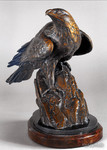 Golden Eagle Bronze sculpture